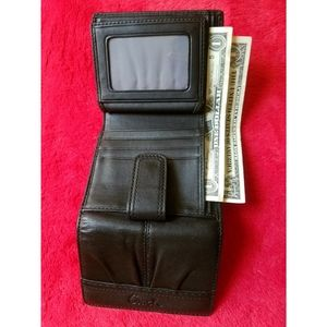 Coach Soho Black Wallet Bifold